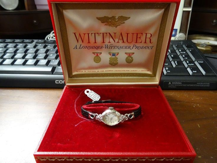 12 best wittnauer images on pinterest baby cows calf leather vintage wittnauer 14k white gold watch with a serenata leather band serviced wittnauer sciox Choice Image