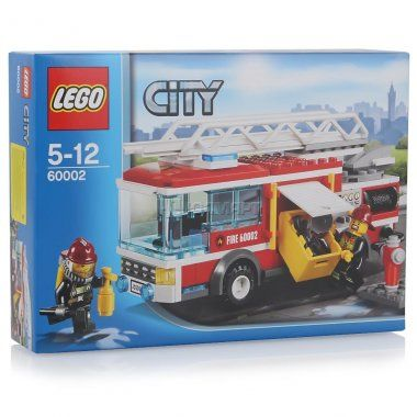 Конструктор LEGO City Пожарная машина, Лего Город, 5+лет (60002)