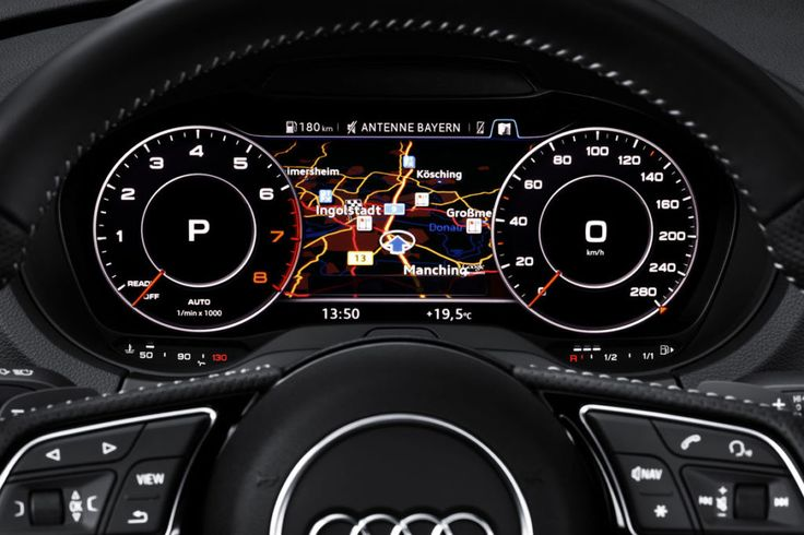 The most noticeable new feature in 2017 Audi A3 is the virtual cockpit.