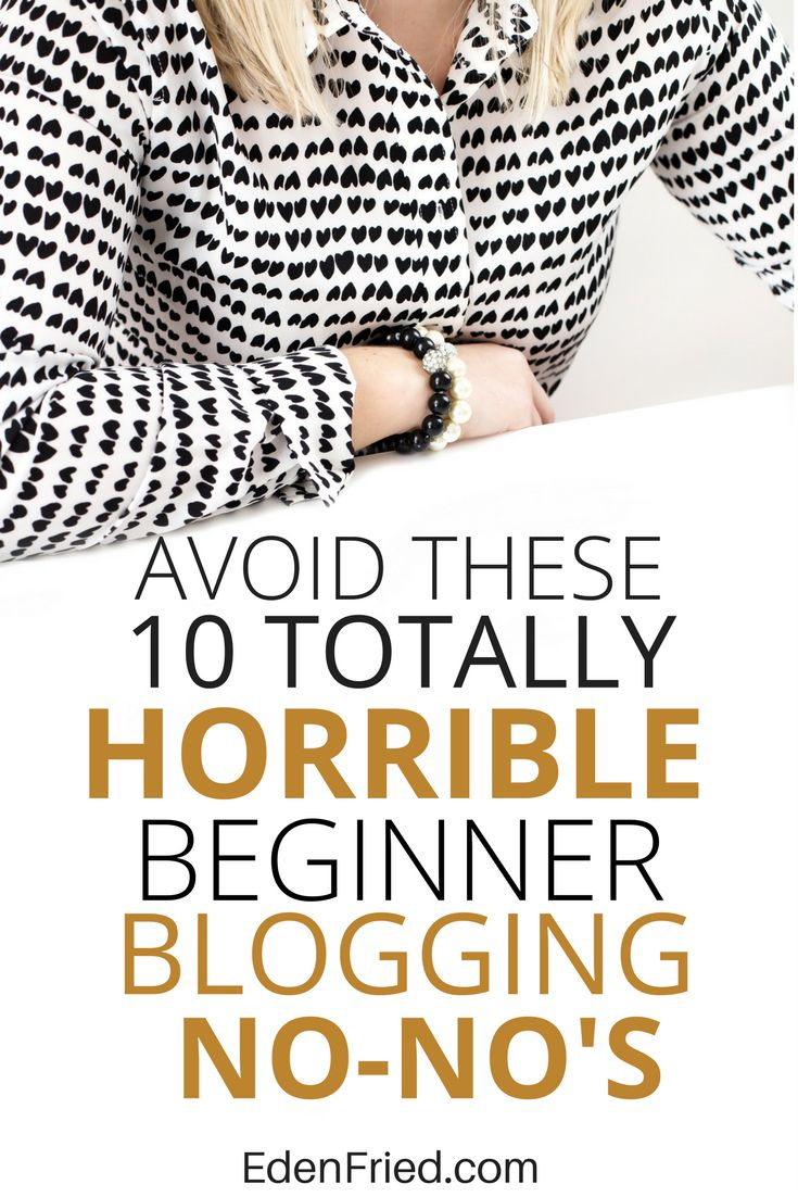 Check out my top blogging mistakes I made in the first 90 days of blogging (+ tips on how to avoid them)