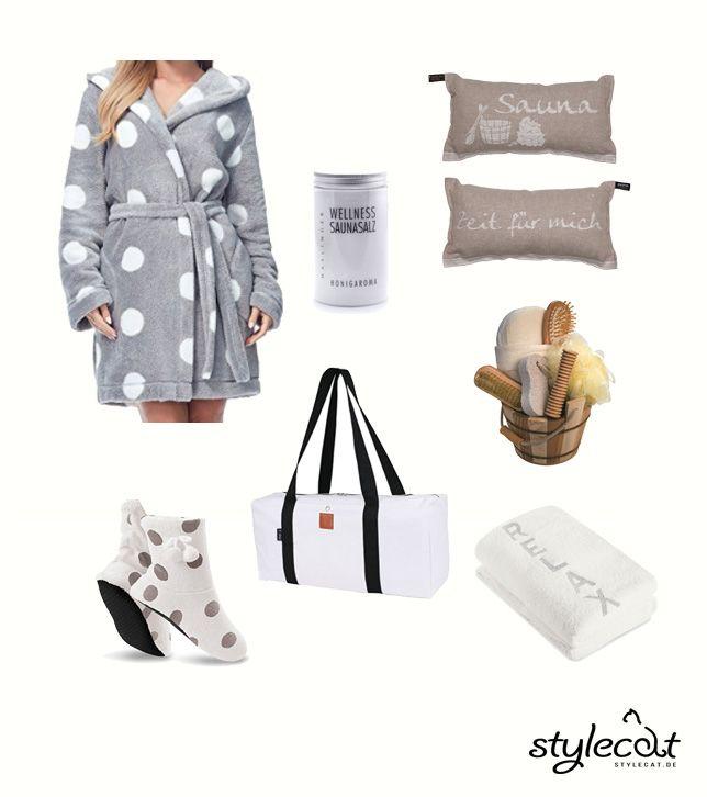 Tolle Geschenk Ideen für Frauen. #wellness #geschenkidee #gift #bademantel #relaxen #sauna #woman #chillen