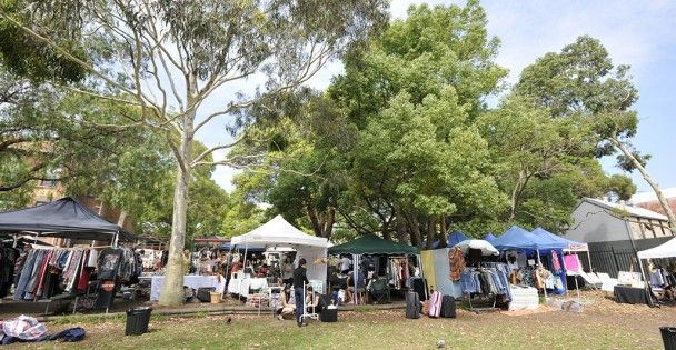 Glebe Markets Every Saturday Corner of Derby Place and Glebe Point Road, Glebe