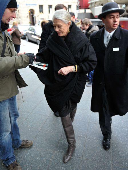 Style icon: Vanessa Redgrave