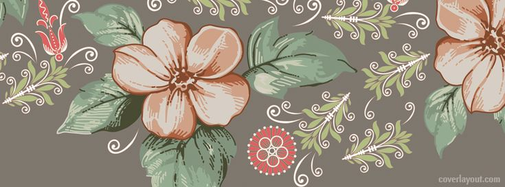 Floral Facebook Covers: 158 Best Images About Facebook Covers~Vintage On Pinterest