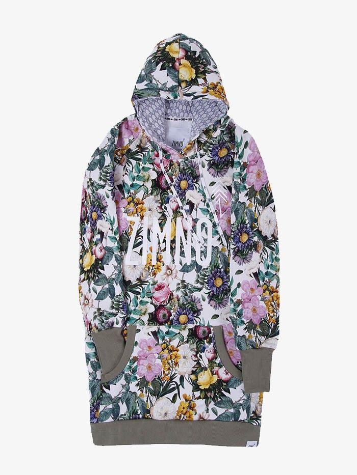 Bluza Hoodie Polne Kwiaty Zimno Clothes Fashion Sweaters