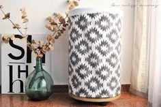 Un maravilloso y práctico DIY: cesto de ropa