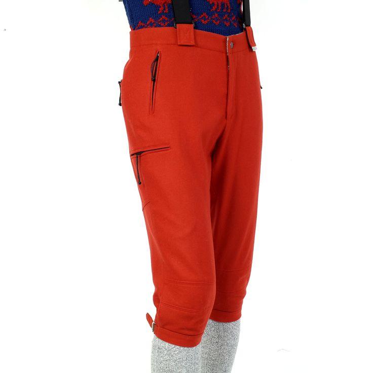 """Modell """" ALPIN """": Die Kniebundhose für den Bergsport !  Die alpine Kniebundhose mit nur 550 Gramm aus Leichtloden und sämtlichen Taschen mit..."""