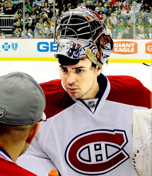 Carey Price, Montreal Canadiens (Source: luongoschneider)