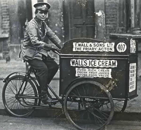 Walls Ice Cream Vendor, c. 1920, London