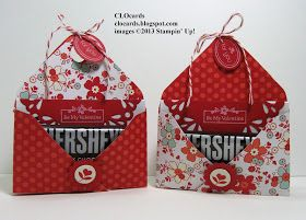 CLOcards: My Little Valentine Double-Pocket Pouch ~ Sealed with LOVE!