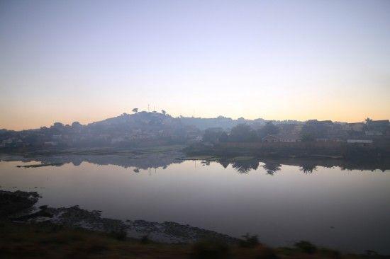 Antananarivo, Madagascar, in the early morning