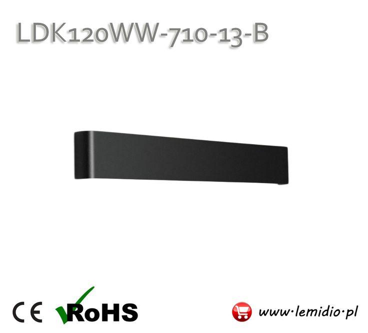 Kinkiet LED LDK120WW-710-13-B