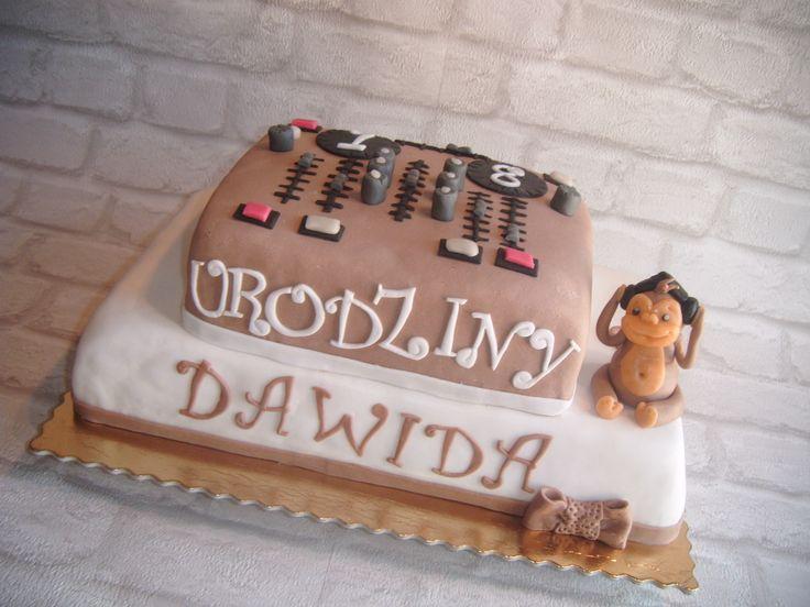 Tort konsoleta dla DJ-a