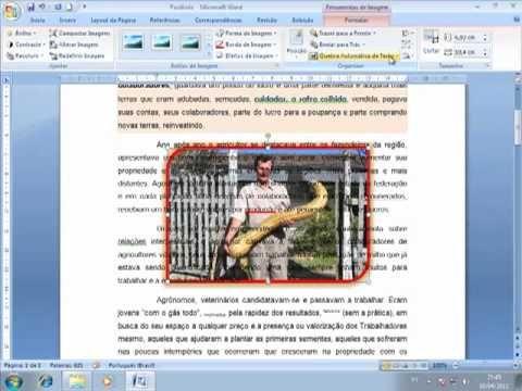 Vídeo Aula 13 - Microsoft Word 2007 - Trabalhando com Imagens - Instruto...