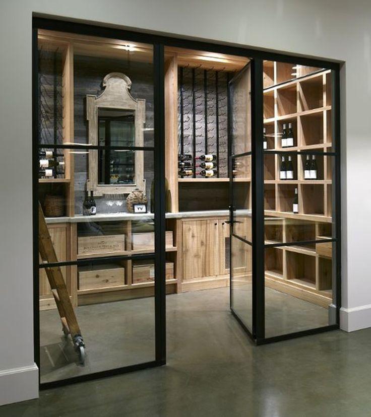Inspiratie wijnkelder inspiratie interieur eve architecten pinterest design wine rooms - Moderne wijnkelder ...
