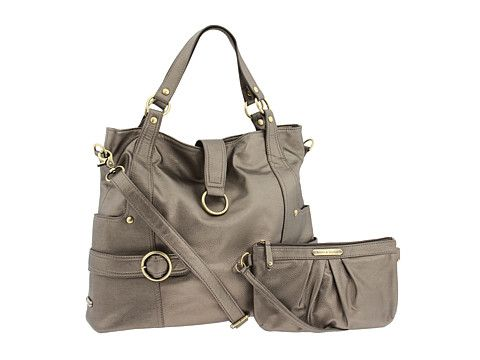 Timi & Leslie Diaper Bags Hannah Pewter - Zappos.com Free Shipping BOTH Ways