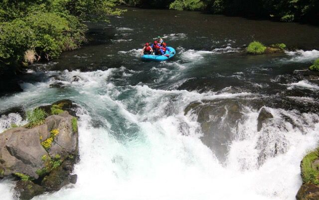 White water rafting on the White Salmon River, White Salmon, Washington. This was one of the most exciting things I have ever done!!! Amazing ride!! Zollers Adventure Odysseys!