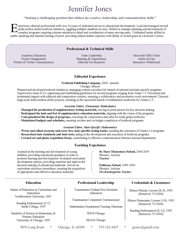 37 best Resumes images on Pinterest Design resume, Resume design - sample of a perfect resume