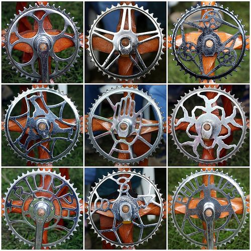 Bicycle Chainwheels by Leo Reynolds, via Flickr