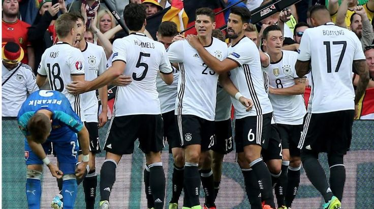 UEFA EURO 2016   Achtelfinale: Gomes nach dem 2:0 - Deutschland gegen Slowakei   Jogi, das war titelreif