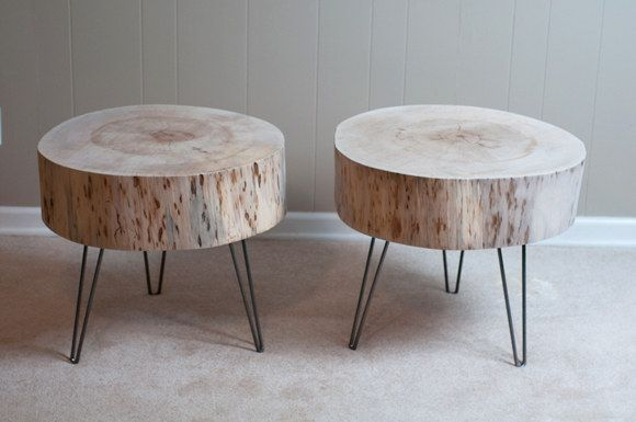 Or go even bigger and find yourself a coffee table, ready to be recycled into a brand new, second life. | 16 Tree Stumps That Will Inspire Your DIY Awakening