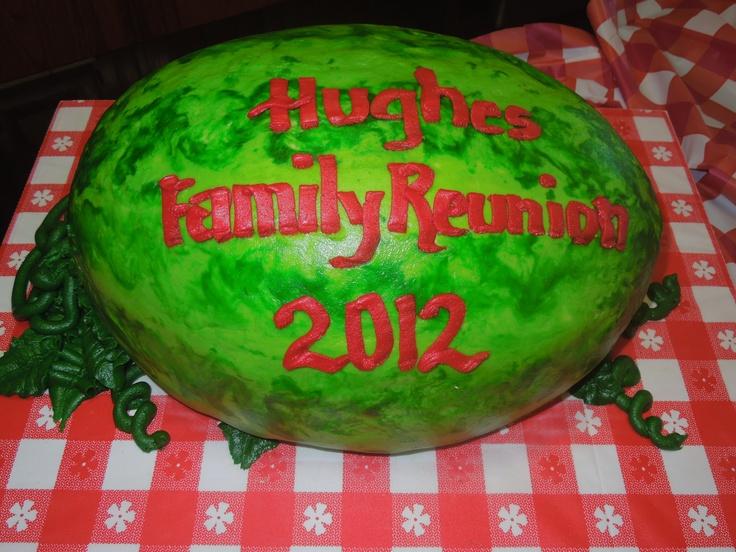 Family Reunion Cake!