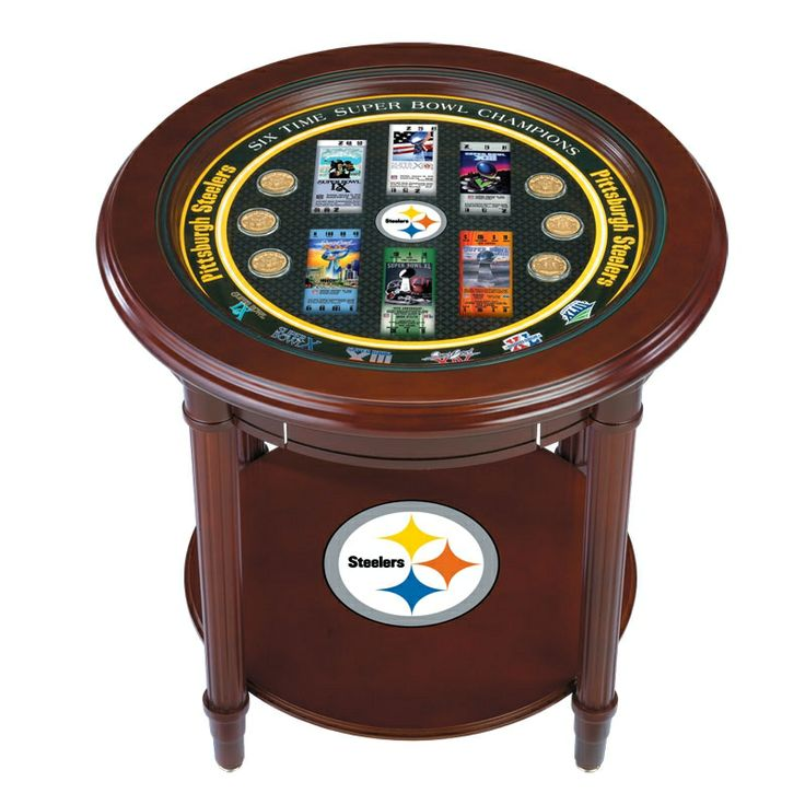 Steelers Super Bowl End Table   The Danbury Mint