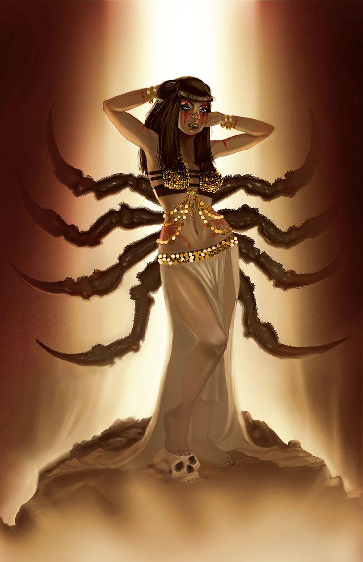 Картинки девочек скорпиона