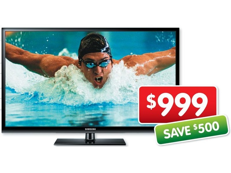Samsung Full High Definition Plasma TV PS51E431 $999 *Prices subject to change