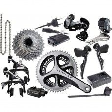 Shimano Dura Ace Di2 Group Set 9070 2x11 - External Cable Routing - www.store-bike.com