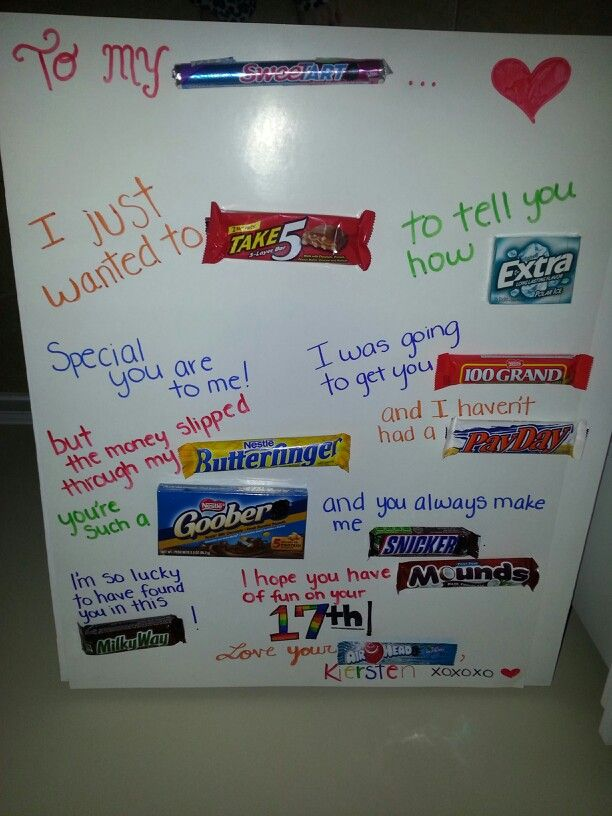 ... Birthday Candy Posters, Birthday Boards, Boyfriends Gift, Birthday
