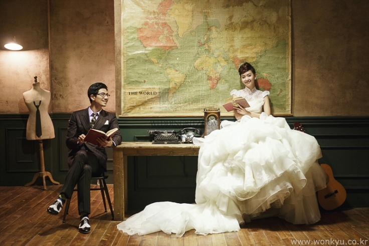 Korea Pre-Wedding Photoshoot - WeddingRitz.com » 'Wonkyu difference' Sample photoshoots in KOREA