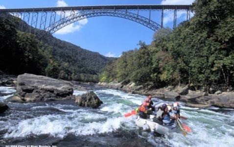West Virginia White Water Rafting 97