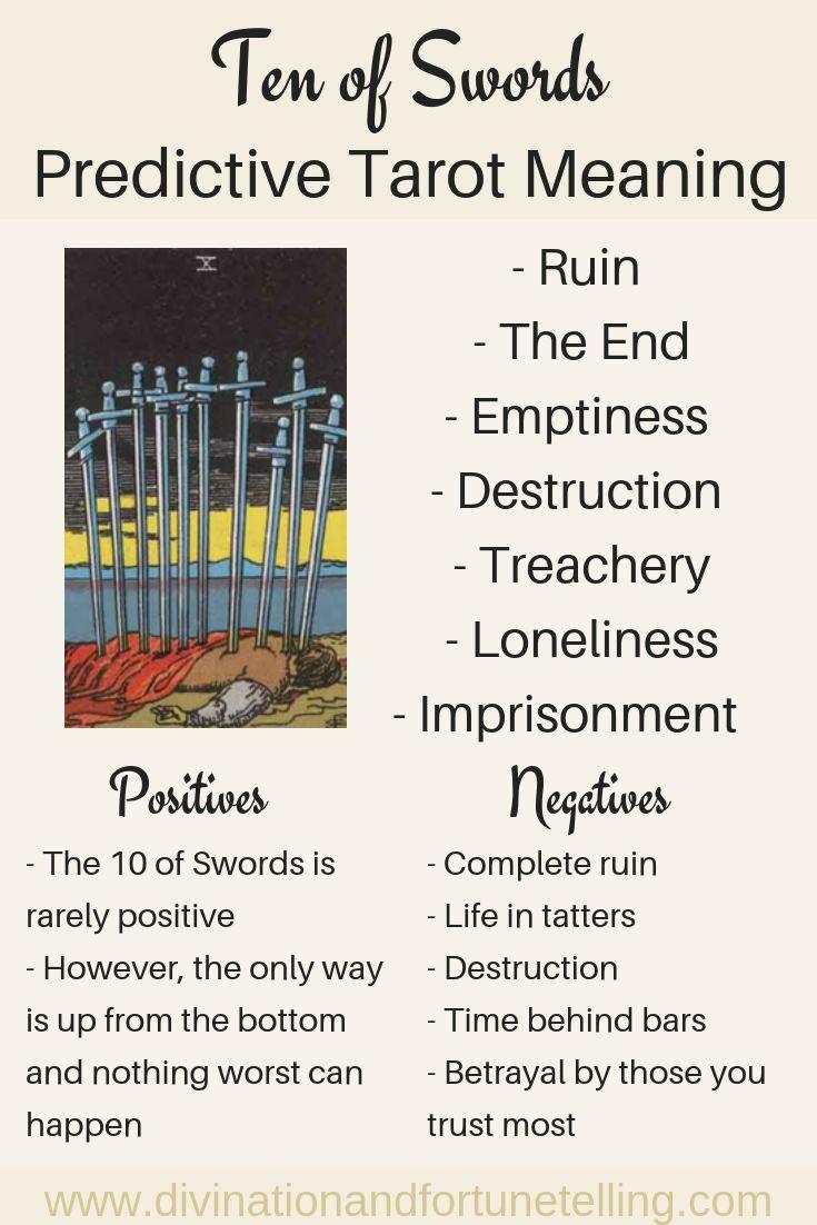 Future tarot meanings ten of swords lisa boswell