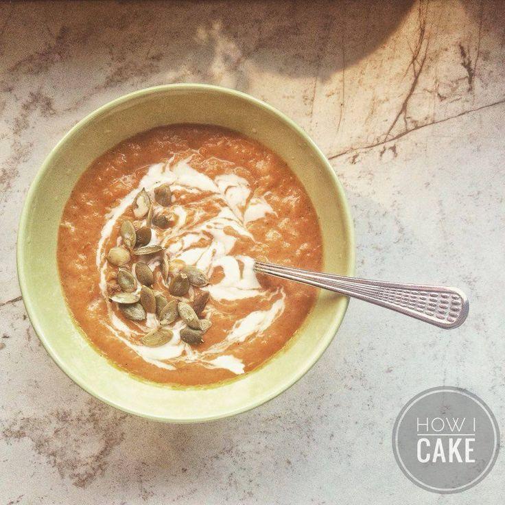 Mennyei sütőtök krémleves - How I Cake