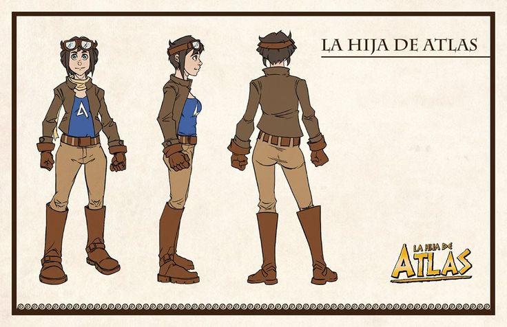 La Hija de Atlas, en su versión final, por Martín Arrieta.