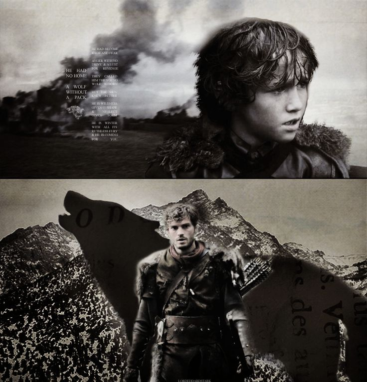 Rickon Stark.. Holy shit son. If this is who he turns out to be, I'll be a Rickon Stark fan for life.