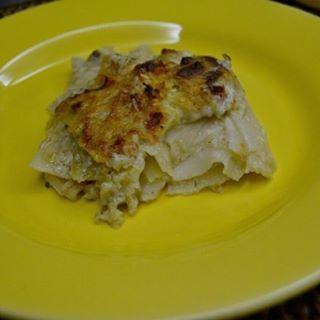 """lasanha com """"massa"""" de palmito pupunha"""
