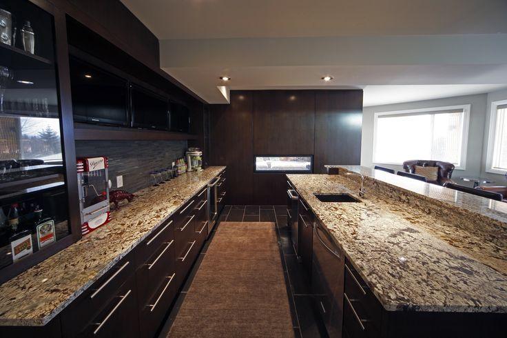 O2 Developments- Bearspaw renovation- Basement Bar
