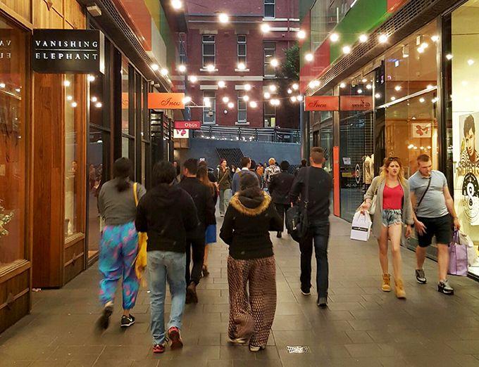 Albert Coates Lane - QV Melbourne