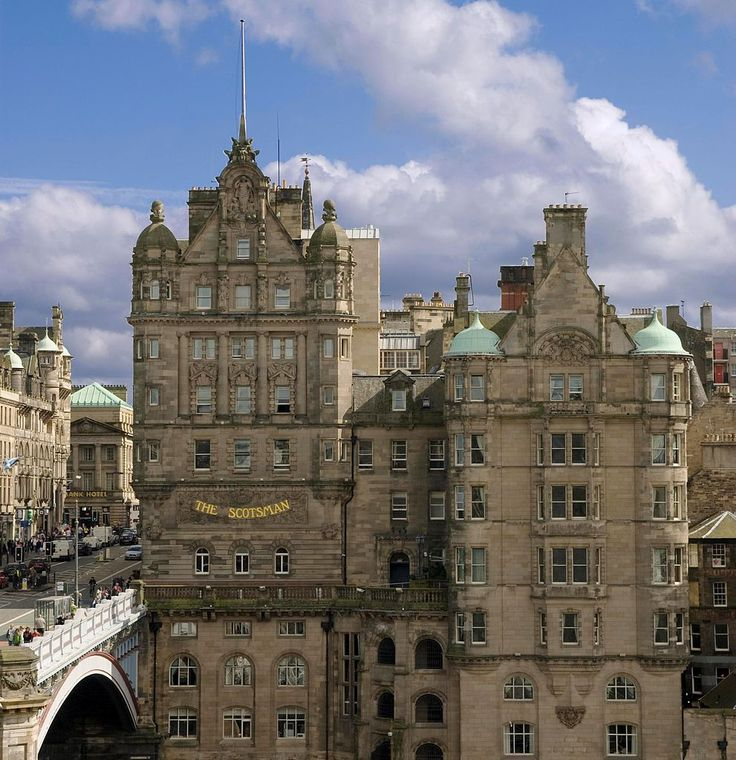 The Scotsman Hotel - Edinburgh SCOTLAND can't tell you how many times I walked past that