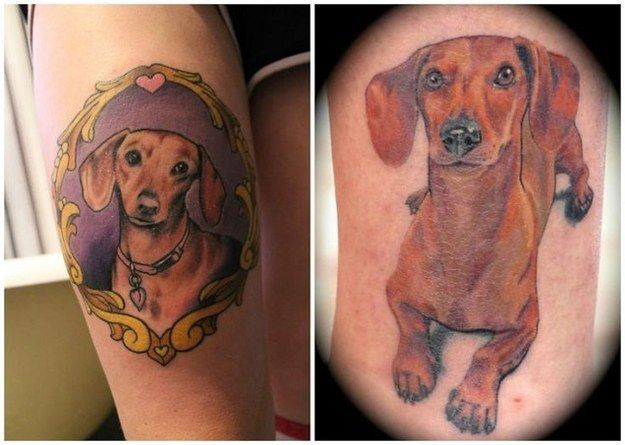 best 25 dachshund tattoo ideas on pinterest. Black Bedroom Furniture Sets. Home Design Ideas