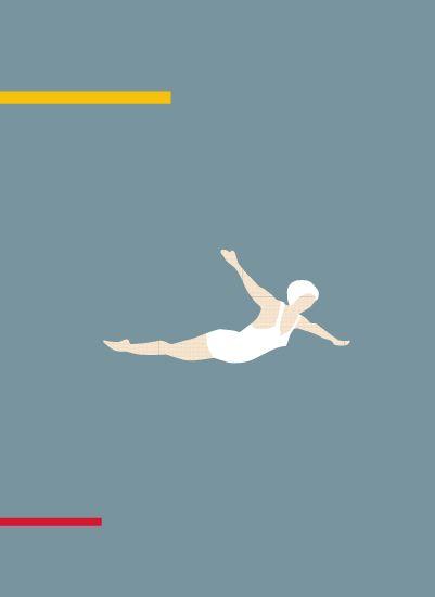Free fall by Sandy Mitchell