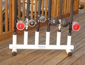 Rod Log Rod Racks for fishing rod storage from alltackle.com