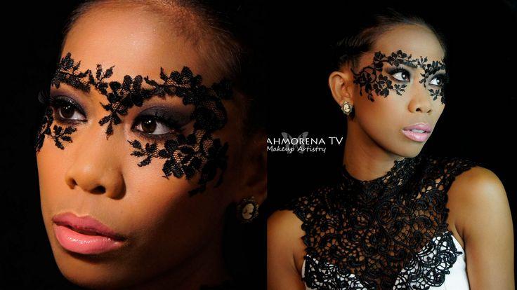 DIY Masquerade - Lace Mask Makeup Tutorial