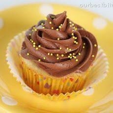 Chocolate Frosting, a cooked recipe made without powdered sugar. Very good, light and creamy. <3