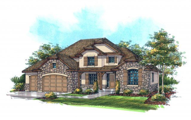 8 best european home plans images on pinterest blueprints for providence plan by rainey homes malvernweather Gallery