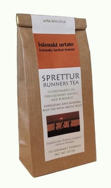 Sprettur - Runners Tea - Herbal Tea  Energizing and mineral rich tea with arctic root.