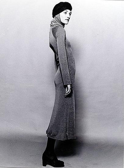 1968, Loulou de la Falaise, photographed by Peter Knapp