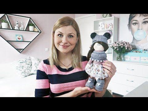 DIY Интерьерная кукла из ткани своими руками КОНКУРС! - YouTube